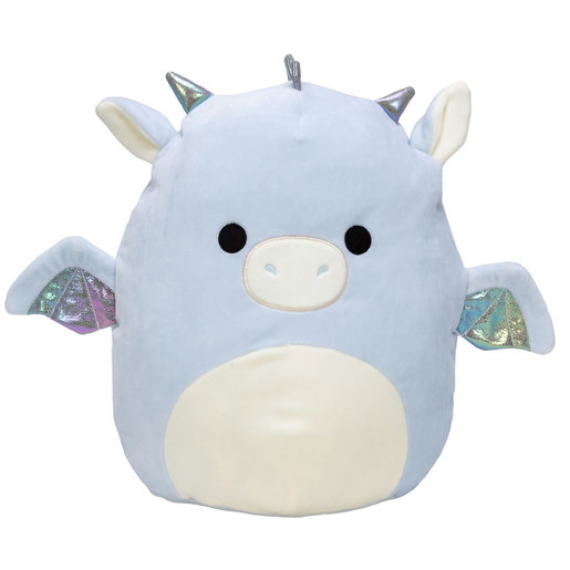 Squishmallows 30cm Super Soft Toy - Kenny the Blue Dragon