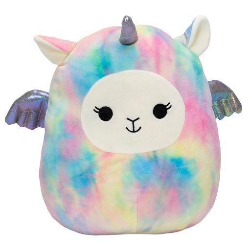 Squishmallows 30cm Super Soft Toy - Lucy-May the Llama Corn