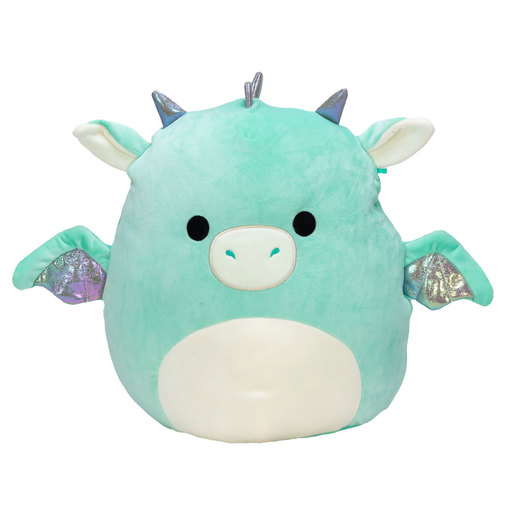 Squishmallows 30cm Super Soft Toy - Miles the Teal Dragon