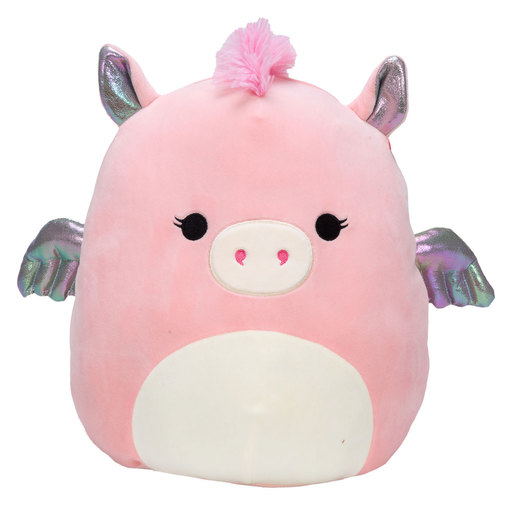 Squishmallows 30cm Super Soft Toy - Pandora the Pink Pegasus