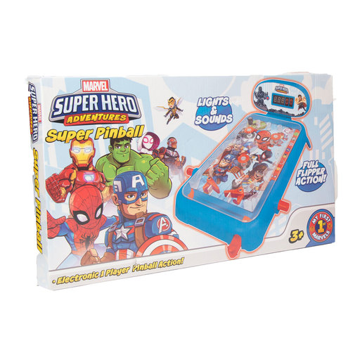 Marvel Super Hero Adventures Electronic Super Pinball