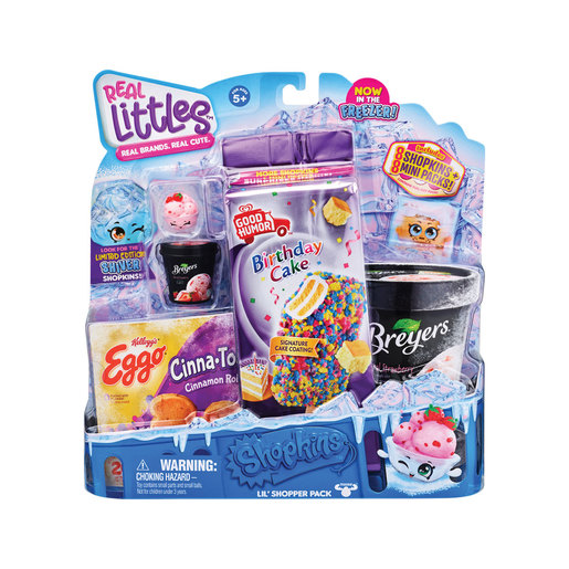 Shopkins Real Littles Icy Treats - Birthday Cake