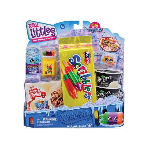 Shopkins Real Littles Icy Treats - Scribblers