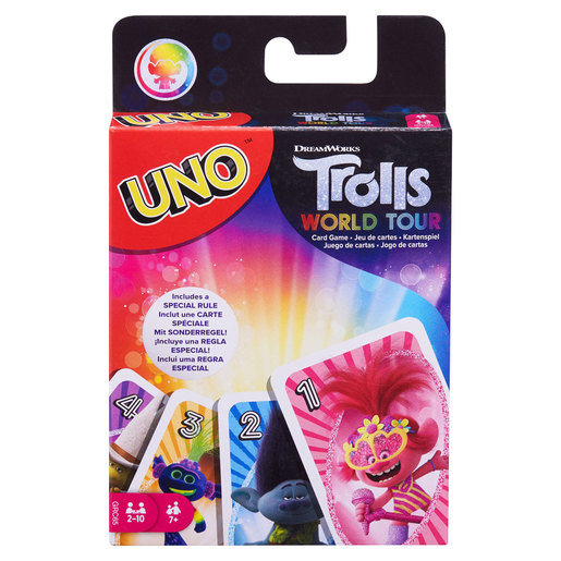 DreamWorks Trolls World Tour UNO Card Game