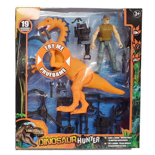 Dinosaur Hunter Playset (Styles Vary) from TheToyShop