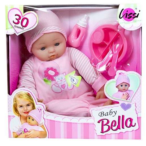 Lissi 40cm Talking Baby Doll and Accessories