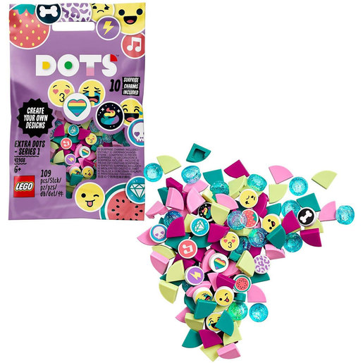LEGO Extra Dots Series 1 Tiles Beads Set - 41908
