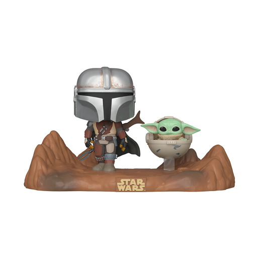Funko Pop! Star Wars: The Mandalorian With The Child (Bobble-Head)