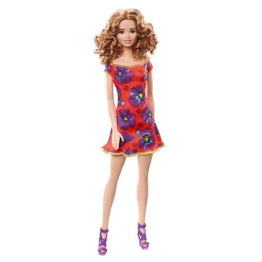 Barbie Flower Doll   Pink Floral Dress