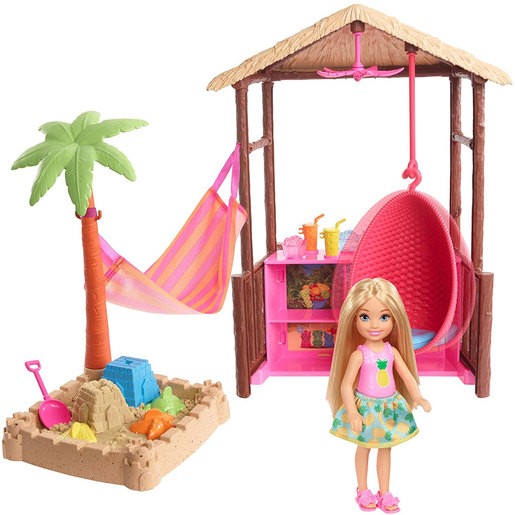 Barbie Moldable Sand and Doll Playset