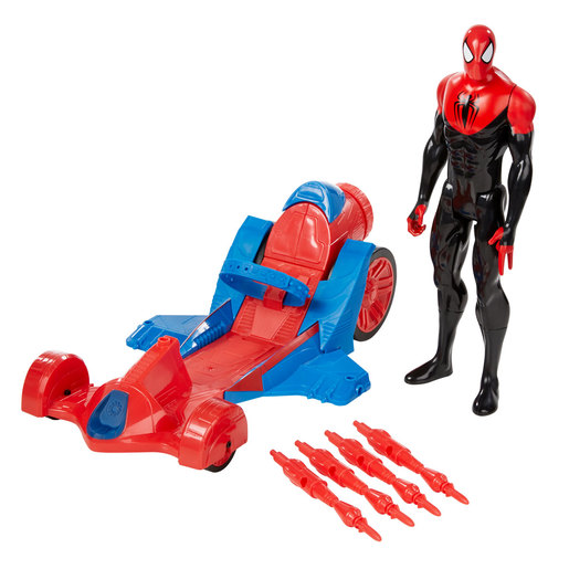 Marvel Ultimate Spider-Man Figure and Turbo Racer Vehicle