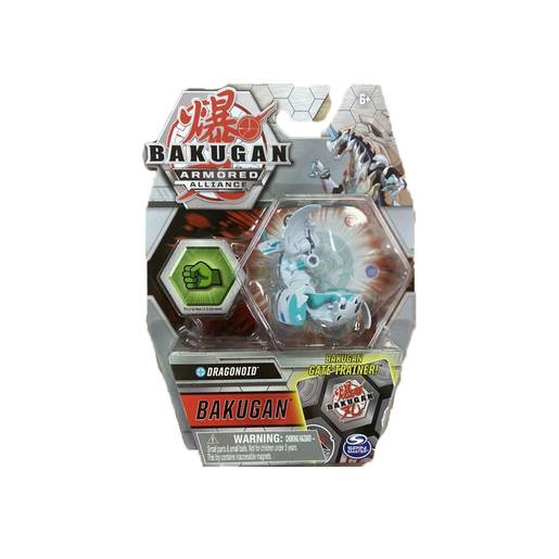 Bakugan Armored Aliance - White Dragonoid