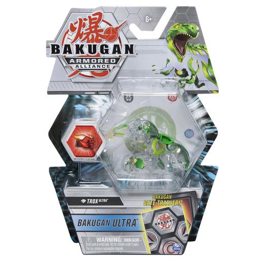 Bakugan Armored Alliance Ultra Trading Card and Figure - Diamond Trox