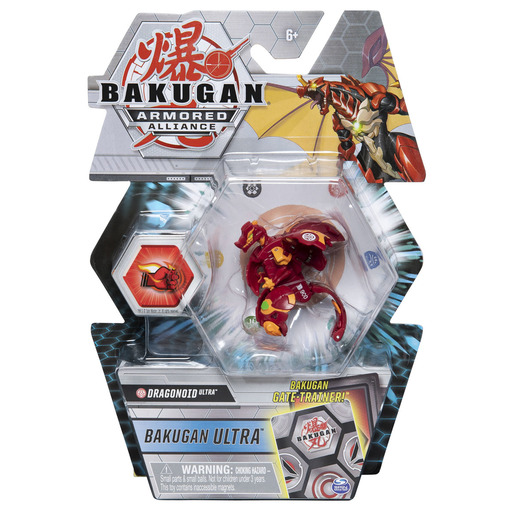 Bakugan Armored Alliance Ultra Trading Card and Figure - Dragonoid (Styles Vary)