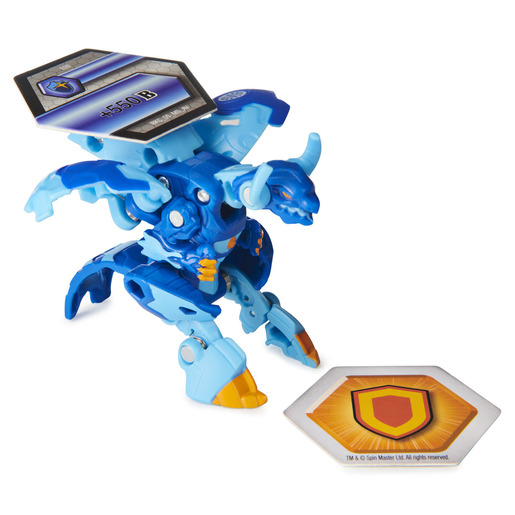 Bakugan Armored Alliance Ultra Trading Card and Figure - Eenoch