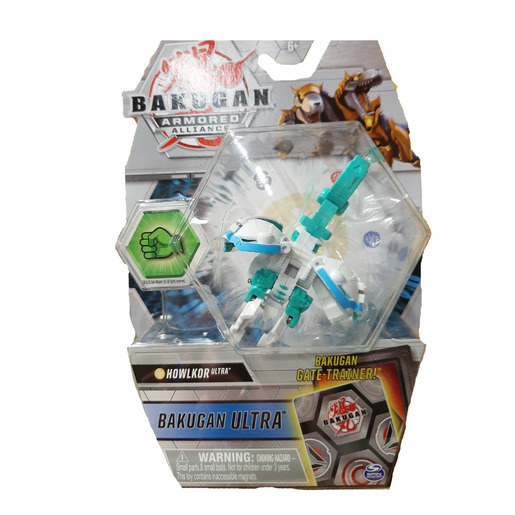 Bakugan Armored Alliance Ultra Trading Card and Figure - Howklor (White) from TheToyShop