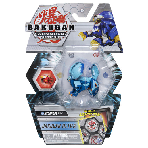 Bakugan Armored Alliance Ultra Trading Card and Figure - Hydorous