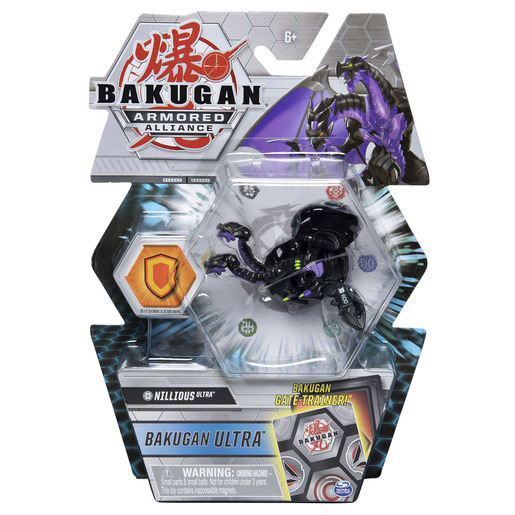 Bakugan Armored Alliance Ultra Trading Card and Figure - Nillious
