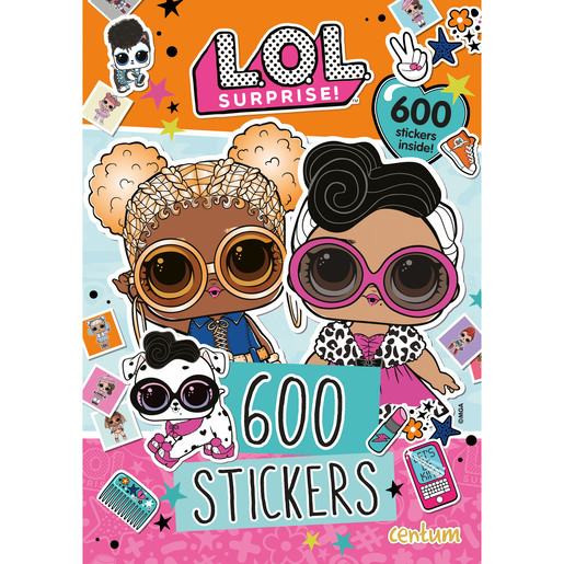L.O.L. Surprise! - 600 Sticker Book from TheToyShop