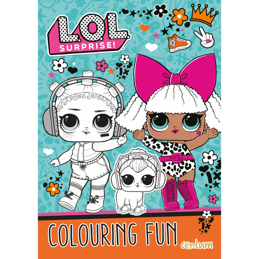 L.O.L. Surprise! - Colouring Fun Book
