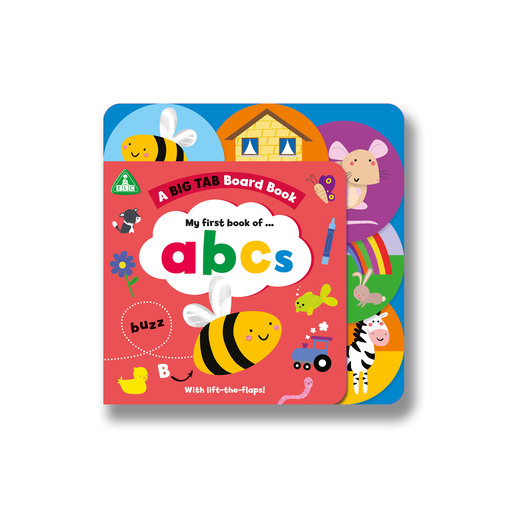 Early Learning Centre Big Tab World Book: ABC