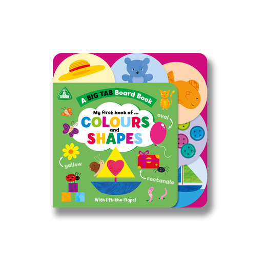 Early Learning Centre Big Tab World Book: Shapes and Colours