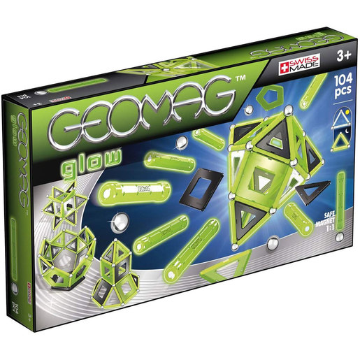 Geomag Glow Construction Set - 104pcs