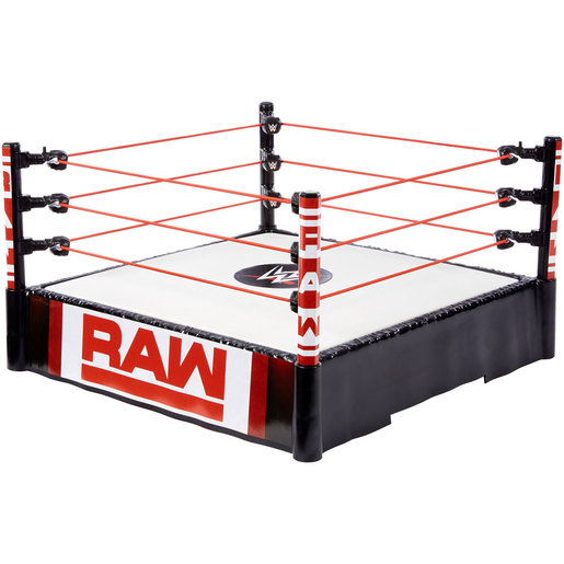 WWE Superstar Ring - RAW Spring Loaded Mat from TheToyShop