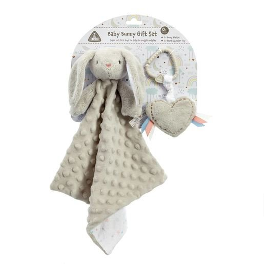 Early Learning Centre Grey Bunny Gift Set