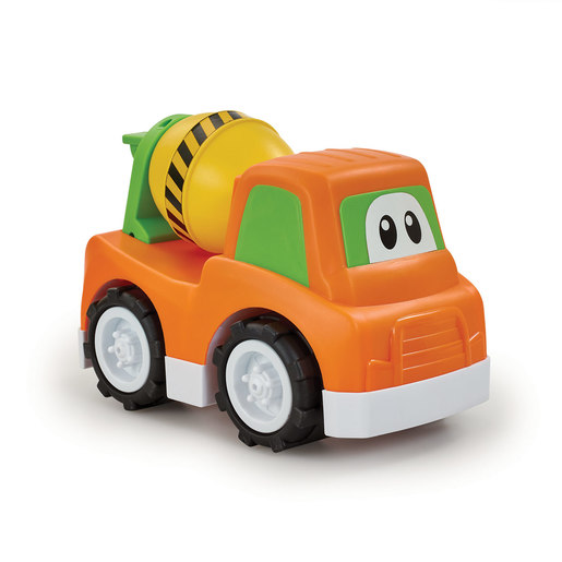 Little Lot Cartoon Vehicle Squad - Cement Mixer
