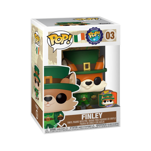 Funko Pop! Around The World - Finley Fox with Pin (Exclusive)