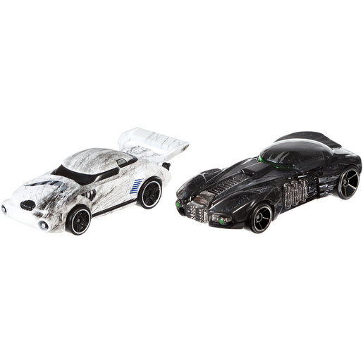 Star Wars Hot Wheels Cars - Stormtrooper and Death Trooper