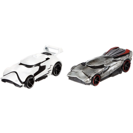Star Wars Hot Wheels Cars - First Order Stormtrooper and Captain Phasma