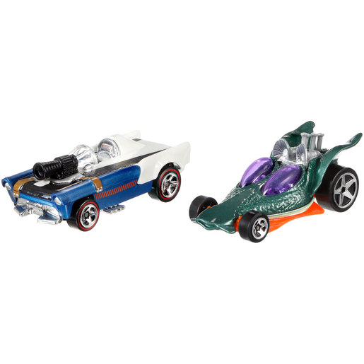 Star Wars Hot Wheels Cars - Han Solo and Greedo