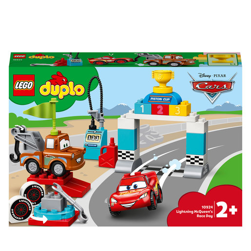 LEGO Duplo Cars Lightning McQueen's Race Day Playset - 10924