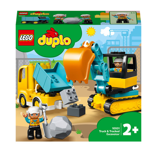 LEGO Duplo Town Truck & Tracked Excavator - 10931