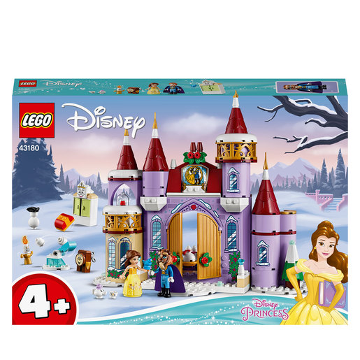 LEGO Disney Princess Belle's Castle Winter Celebration- 43180