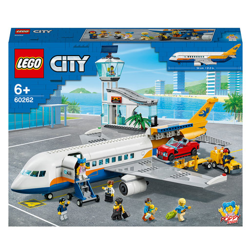 LEGO City Airport Passenger Airplane & Terminal - 60262