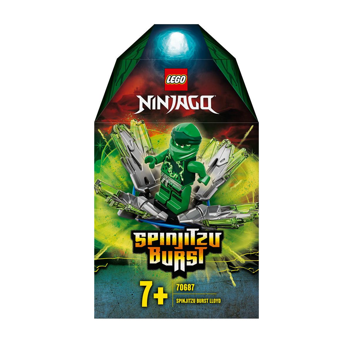 Lego Ninjago Spinjitzu Burst Lloyd Green Ninja Spinner 70687 The Entertainer