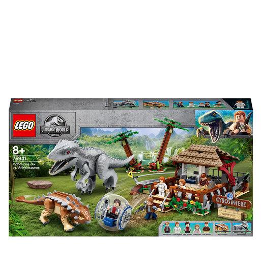 LEGO Jurassic World Indominus Rex vs. Ankylosaurus Set - 75941