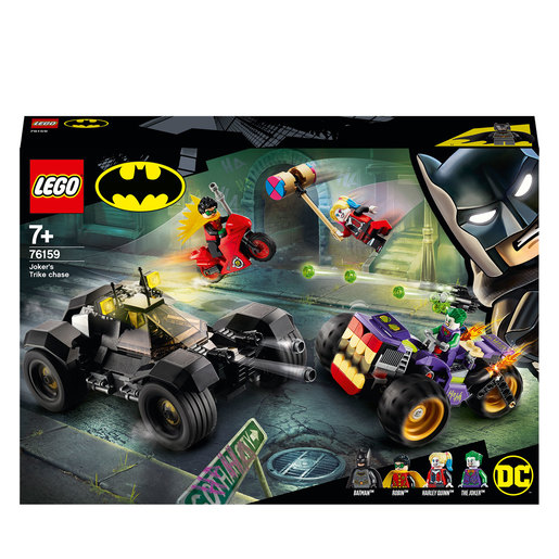LEGO DC Batman Jokers Trike Chase Batmobile   76159