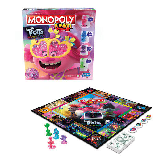 Monopoly Junior DreamWorks Trolls World Tour