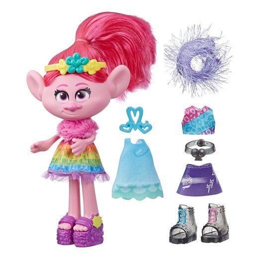 DreamWorks Trolls World Tour Fashion Celebration Poppy