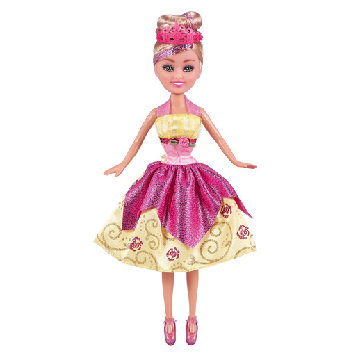Sparkle Girlz Deluxe Princess Doll - Pink
