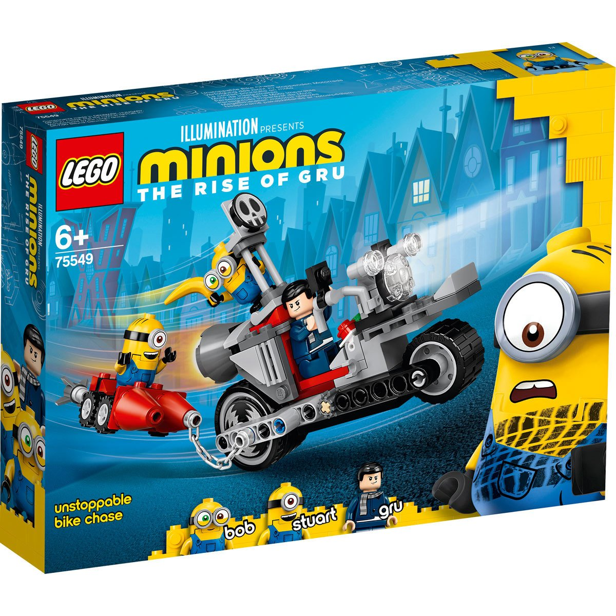 LEGO Minions The Rise of Gru Unstoppable Bike Chase - 75549   The Entertainer