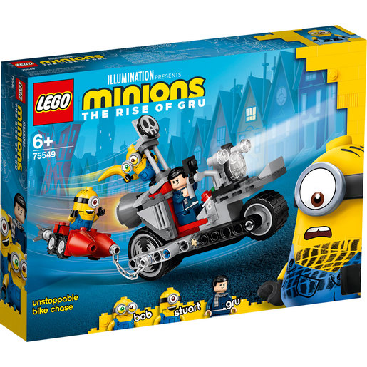 LEGO Minions The Rise of Gru Unstoppable Bike Chase - 75549