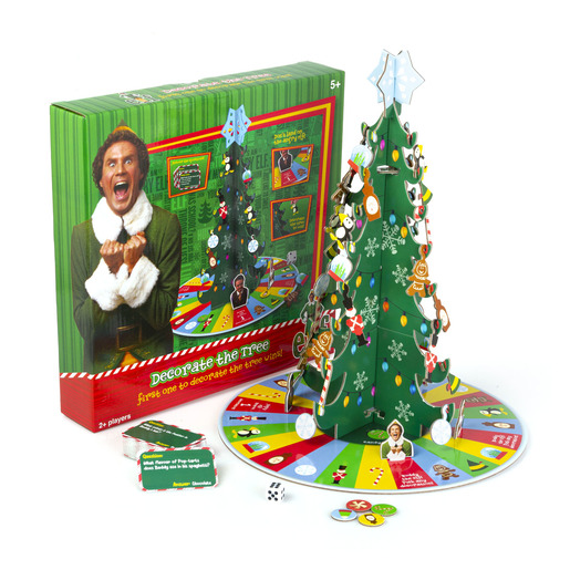Elf Decorate The Tree Game