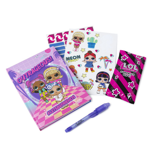 L.O.L Surprise! L.E.D Light Up Diary Set