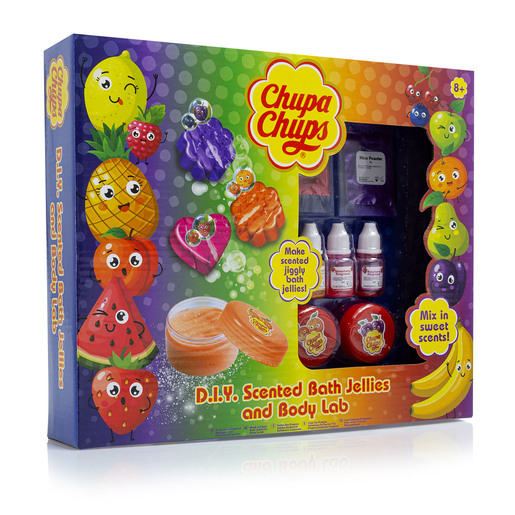 Chuppa Chups D.I.Y Bath Jellies and Body Lab
