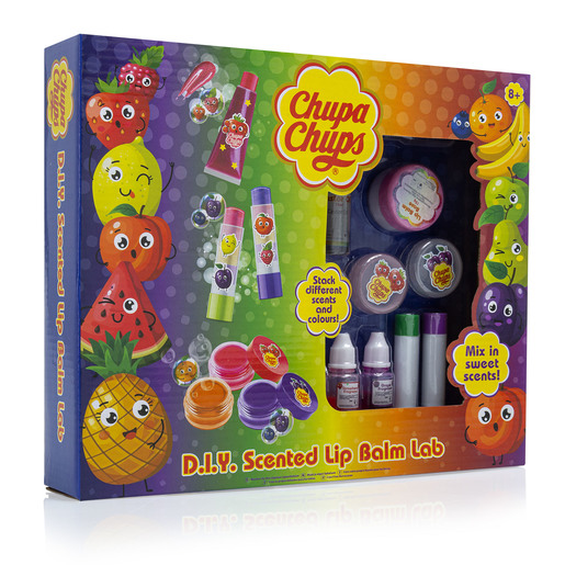 Chuppa Chups D.I.Y Scented Lip Balm Lab